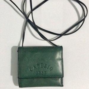 Capezio Leather Shoulder Wallet